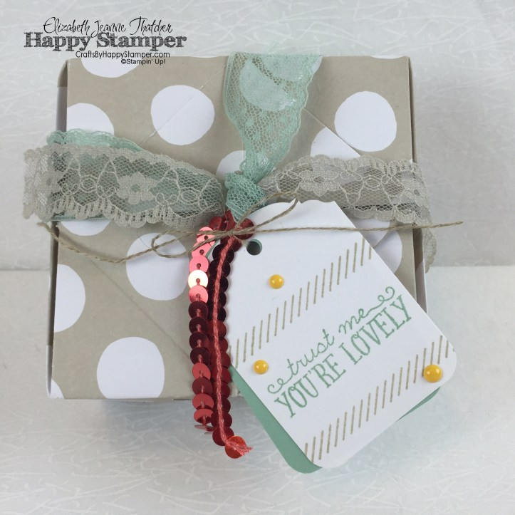 Stampin Up, Fortune Cookie, Video, Chinese Food Take Out Box, You're So Lovely