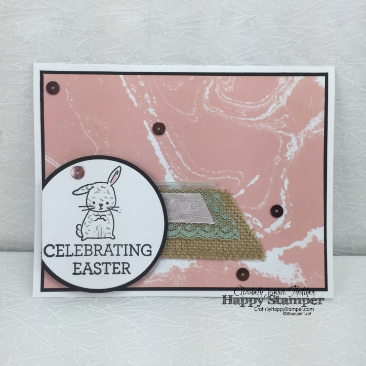 Stampin Up, Made With Love, Easter, Can You Case It #110, CYCI #110, Perfectly Artistic, Crazy About You