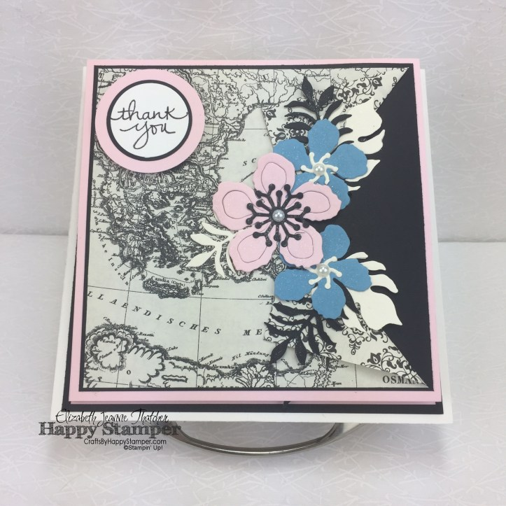 Stampin Up, Easel Box, Typeset, Botanical Builders, Feels Good, Endless Thanks