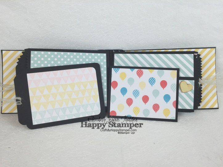 Stampin Up, mini album, mini treat bag, memories in the making, project life, picture perfect
