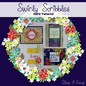Swirly Scribbles Card Tutorial