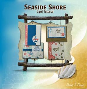 Seaside Shore Card Tutorial