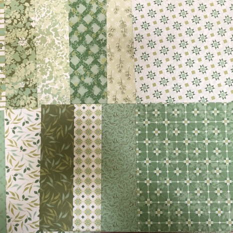 garden lane sampler, stampin up, dsp, paper