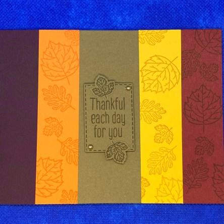 fall, thanksgiving, thankful, handmade card