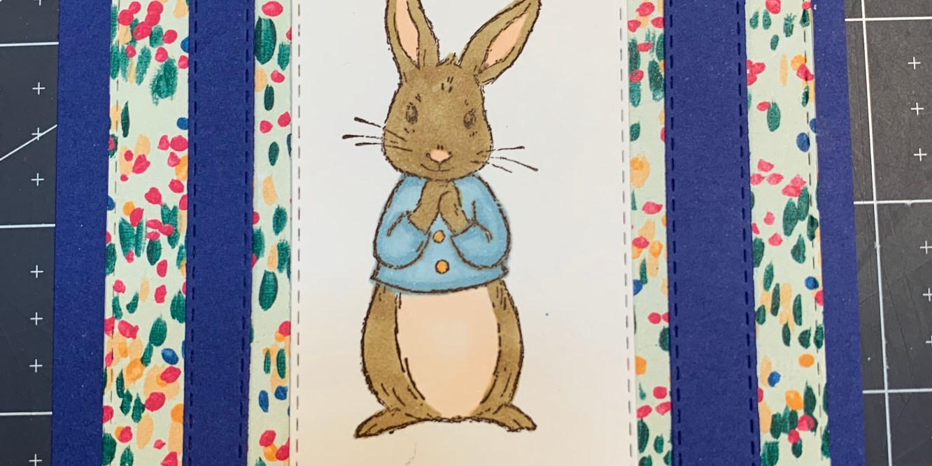 bunny floral easter card, easter, bunny, rabbit