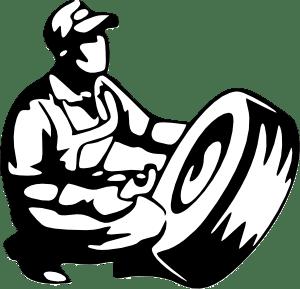Tire Mechanic SVG