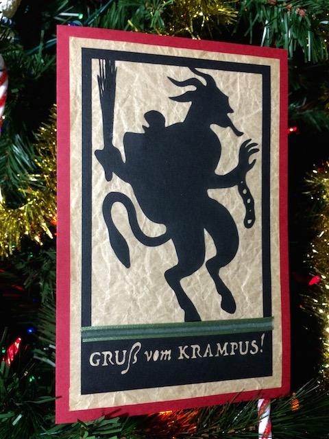 Krampus Card Photo