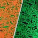 Halloween Printable Paper Foiled