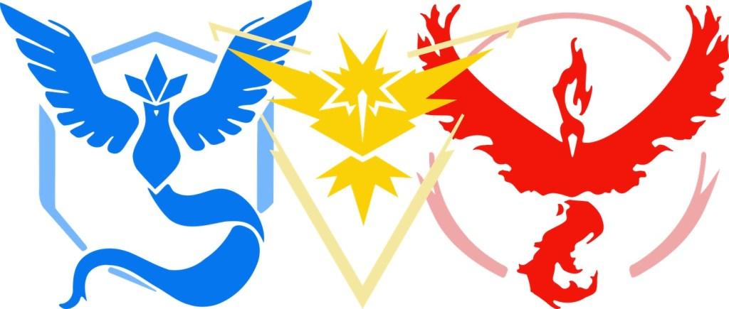 Pokemon Go Team Emblem SVGs