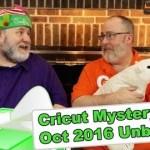 Cricut Mystery Box - October 2016 Unboxing