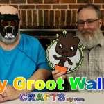 Baby Groot Wall Art