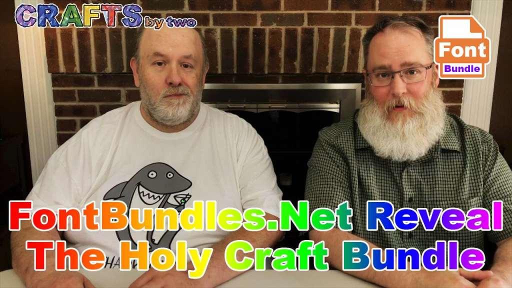FontBundles.Net Reveal - The Holy Craft Bundle