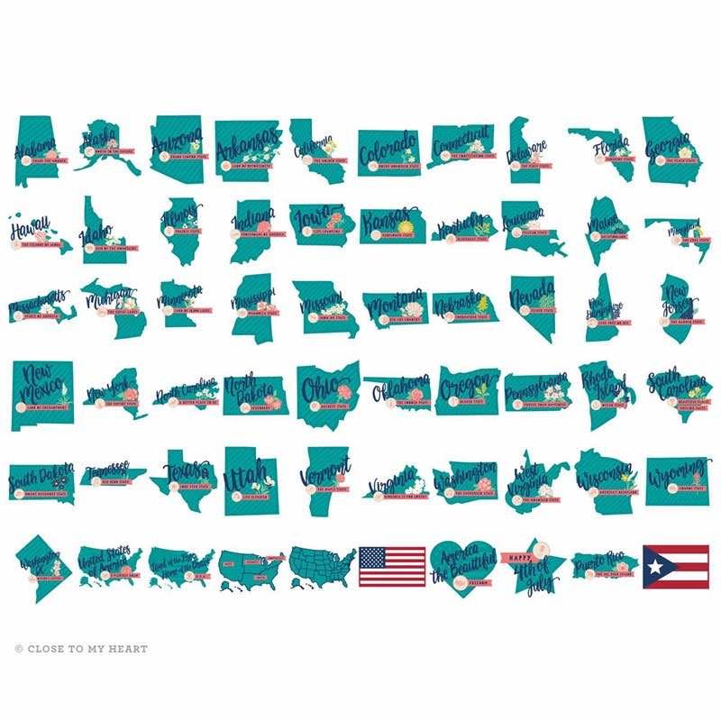 Close to my Heart - Hello USA