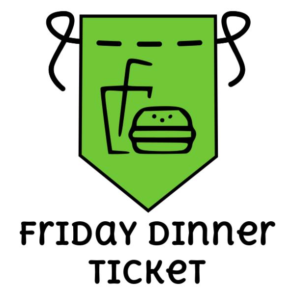 Crafty You - Friday Dinner Ticket