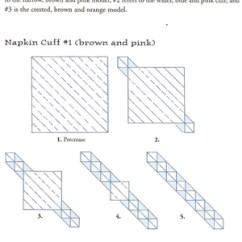 Diagram Origami Bracelet Of Planets Real Craftside Napkin Ring