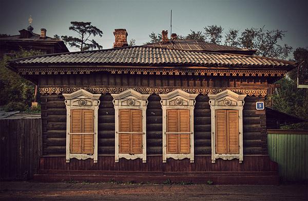 Руска традиционна къща