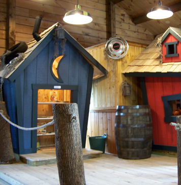 Къщички за детски центрове