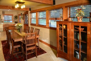 Dining Entry - The Craftsman Lodge