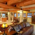 Living Room Main Floor – The Craftsman Lodge