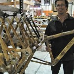 What? A bamboo bicycle?