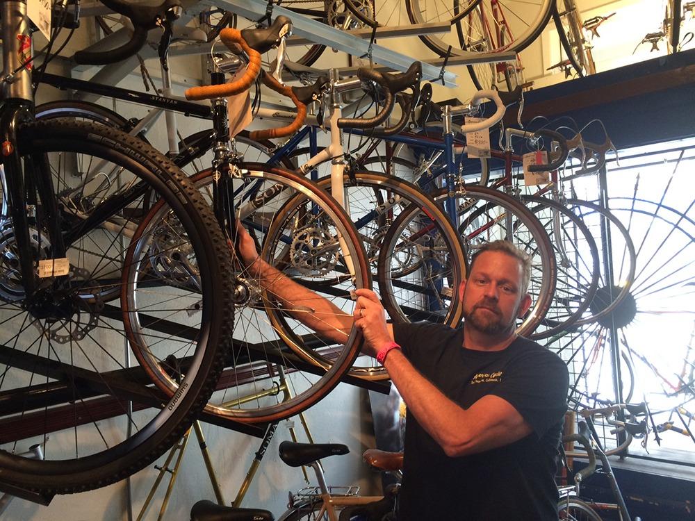Brad Woehl has run American Cyclery in San Francisco since XXXX.