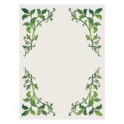 leaves border vector pattern patterns file creative scalable