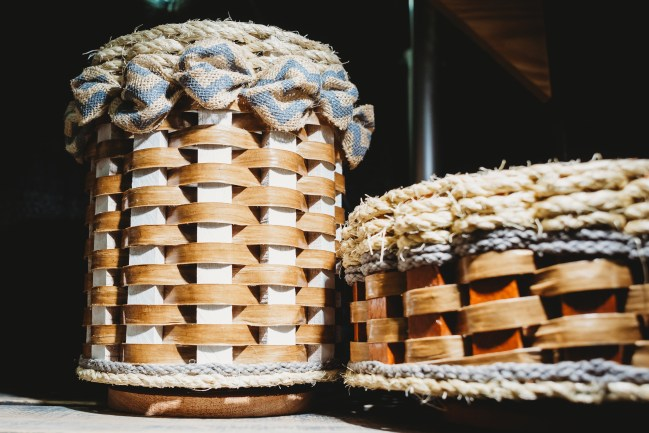 Split-wood baskets