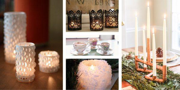 coasters sofa bed cloud levitating 20 creative & beautiful diy candle holders ideas – crafts ...