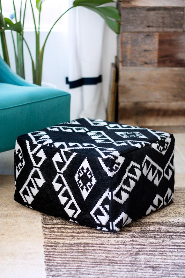 DIY Pouf Seating