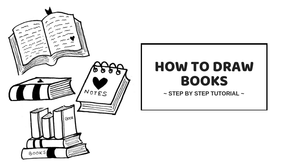 How To Draw A Book: Easy Step By Step Tutorial You'll Love
