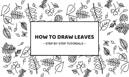 How To Draw Leaves: 21 Best Tutorials For Beginners Craftsonfire