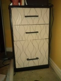 Snazzing up the filing cabinet | Via Hand