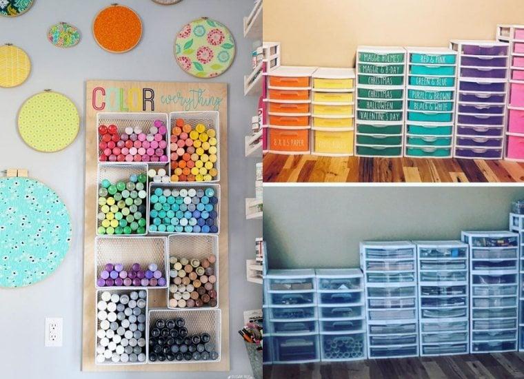 25 Craft Room Organization Ideas Craftsy Hacks