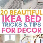 20 Beautiful Ikea Bed Hacks For Bedroom Craftsy Hacks