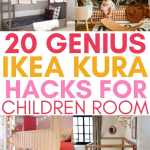 20 Ikea Kura Hacks For Children Room Craftsy Hacks
