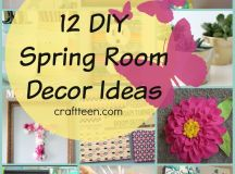 12 DIY Spring Room Decor Ideas – Craft Teen
