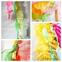 Crepe Paper Tutorials  Craft Thyme