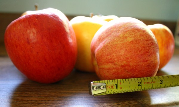 Getting an average size for your apples