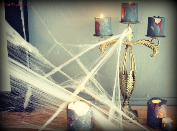 Zombie Candles and Spider Webs