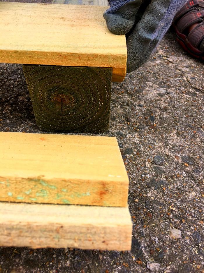 Assembling a garden box