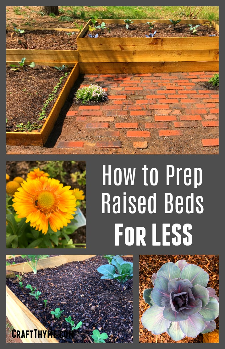 How to fill your raised beds with good soil, that maintains moisture, keeps out weeds, and doesn't cost a fortune.