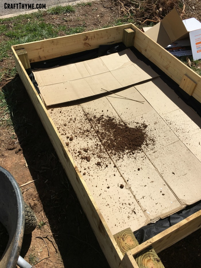 How to prep a raised bed to minimize weeds and cost