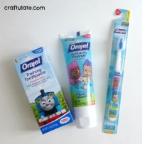 Personalised Toothbrush Holder with Orajel - Craftulate