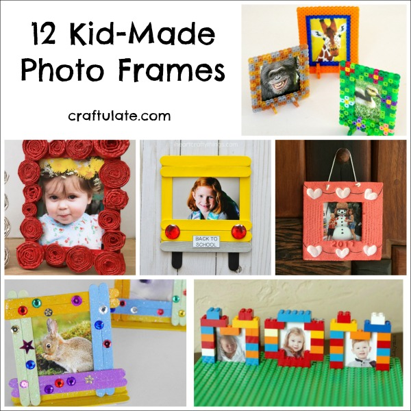 12 kid made photo