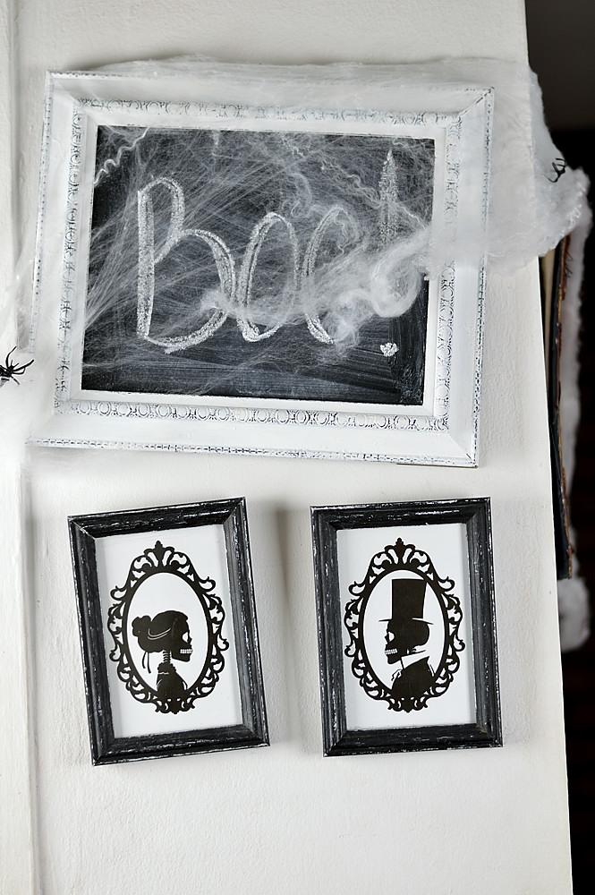 Candle Labels Skulls