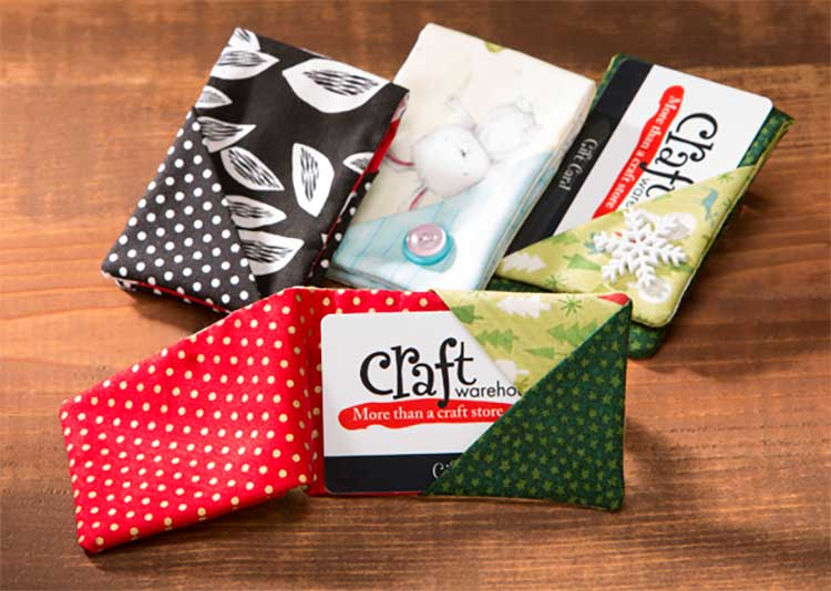 Fabric Gift Card Holders Craft Warehouse