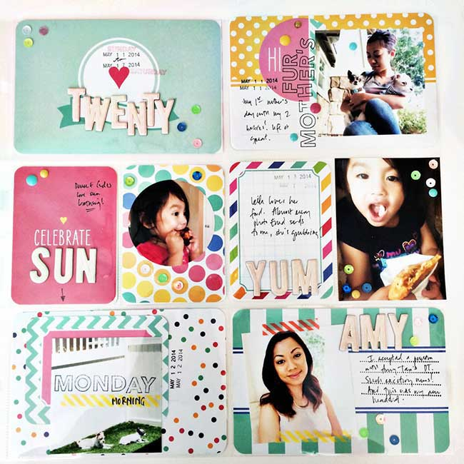 Strawberry Project Life Pages