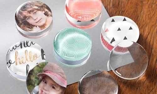Custom Glass Magnets