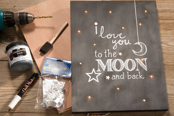love you to moon and back wall art final