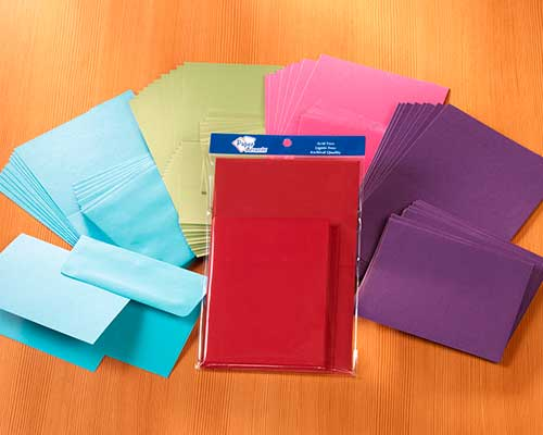 Cards & Envelopes Sets 10 count